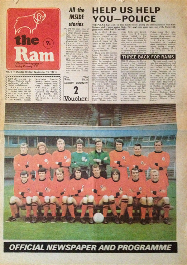 Derby County 6 - 2 Dundee United (The Arab Archive)